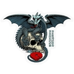 Powell Peralta Sticker Dragon Skull