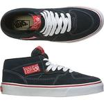 Vans Skateboard Shoes Half Cab - Navy/Red Suede