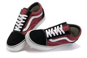 Vans TNT 5 Pro shoes - Black/Dark Red