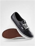 Vans Shoes Authentic Aged Leather - Black