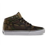Vans Skate Shoes 106 Mid Camo (Green)