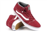 Vans Shoes TNT 5 Mid - Maroon - Size 7
