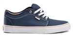 Vans Shoes Chukka Low - Washed Navy Canvas
