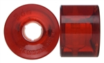 3dm Wheels Cambria Road Rider 62mm x 45 - 80a - Clear Red