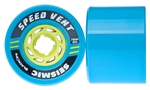 Seismic Wheels Speed Vent Black Ops 73mm x 54mm - 80A - Blue