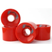 Metro Retro Skateboard wheels 63mm 78a Red