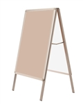 A Frame Double Poster Stand
