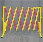 Crowd Control Barricade (VERSA-GUARD) Yellow/Magenta
