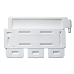 Strongwall - LCD White No Sheeting - Top Only, order base separately