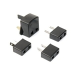 Foreign Adapter Plug set for world wide travellers
