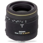 Sigma 50mm f2.8 DG EX MACRO Lens for Sony Alpha