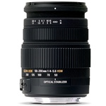 Sigma 50-200mm f4-5.6 DC OS HSM Lens for Canon