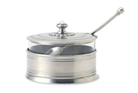 Parmesan Dish with Spoon by Match Pewter