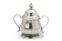 Traditional Sugar Bowl by Match Pewter
