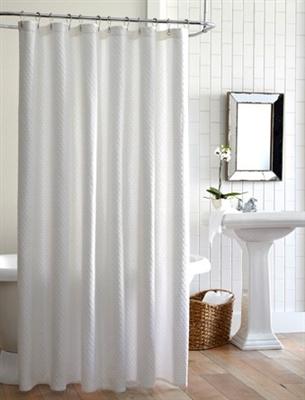 Peacock Alley Alyssa Matelasse Shower Curtains