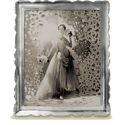 "Carretti Extra Large Rectangle Frame (8""x10"") by Match Pewter"