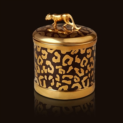 L Objet Leopard Scented Candle