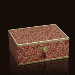Fortuny Granada Red Box (Large) by L'Objet