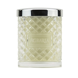 Lime & Orange Blossoms Crystal Cane Candle by Agraria