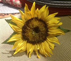 Sunflower Napkin Rings by Deborah Rhodes