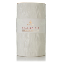 Frasier Fir Ceramic Pillar Candle (14 oz) by Thymes