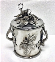 Aspen Antler Covered Ice Bucket by Cipolla Pewter