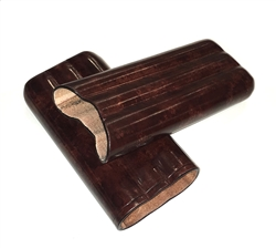 Leather Cigar Case (Large) by Peroni Firenze