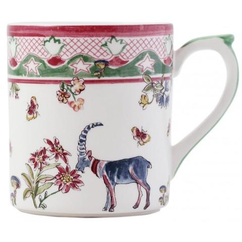 Gien france jardin imaginaire xl mug for Jardin francais jewelry