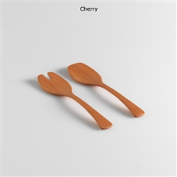 "13"" Cherry Salad Serversl by Andrew Pearce"