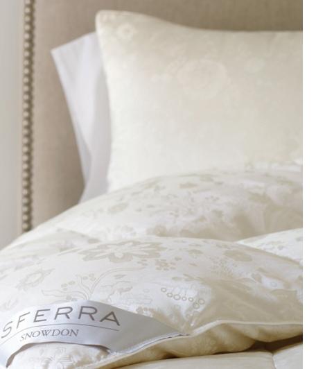 snowdon canadian goose down pillows by sferra