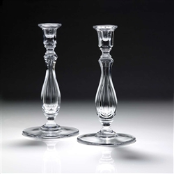 "Adelaide Candlestick Pair (12"") by William Yeoward Crystal"