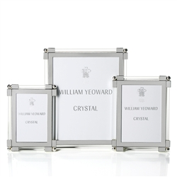 Classic Clear Glass Frames by William Yeoward