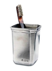 Dolomiti Toothbrush Cup by Match Pewter