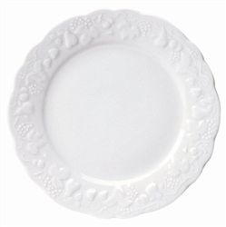 Blanc de Blanc Dinner Plate by Philippe Deshoulieres