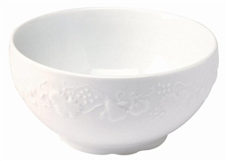 Blanc de Blanc Small French Bowl by Philippe Deshoulieres