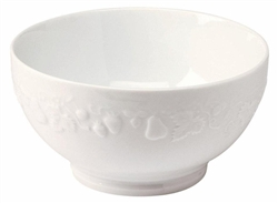 Blanc de Blanc Medium French Bowl by Philippe Deshoulieres