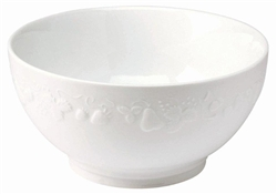 Blanc de Blanc Large French Bowl by Philippe Deshoulieres