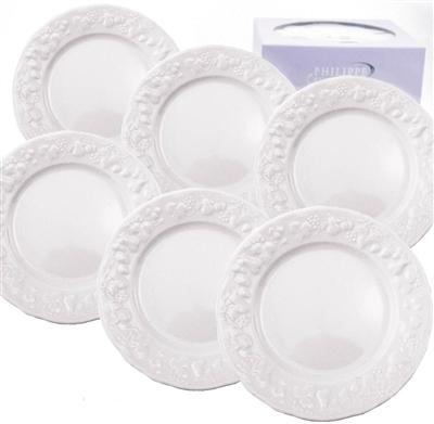 Philippe deshoulieres blanc de blanc canape plates set for Philippe deshoulieres canape