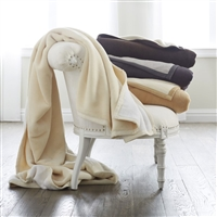 Tonal Cotton Blanket  by Scandia Home