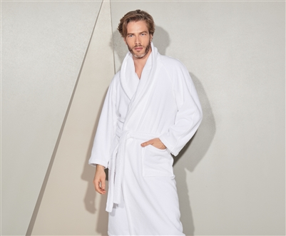 yves delorme etoile robe modal terry bath robe. Black Bedroom Furniture Sets. Home Design Ideas