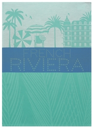 French Riviera Tea Towels by Le Jacquard Francais