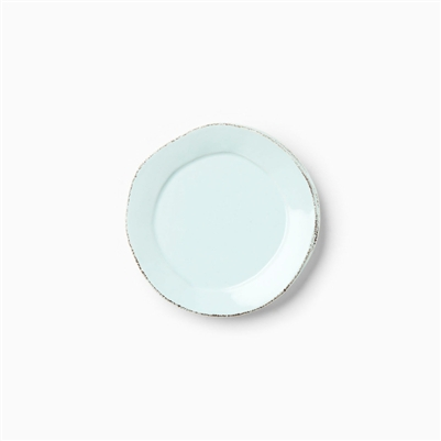 Vietri lastra aqua canape plate for What is a canape plate used for