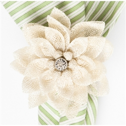 Dahlia Napkin Ring by Juliska