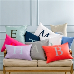 Matouk - Initial Decorative Pillows