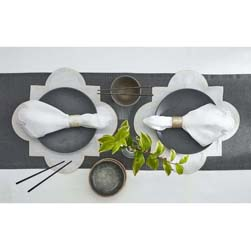 Matouk - Mirasol Napkins, Placemats, Tablecloths