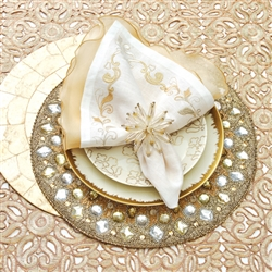 Brocade Border Napkin by Kim Seybert