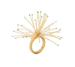 Spider Beaded Burst Napkin Ring by Kim Seybert