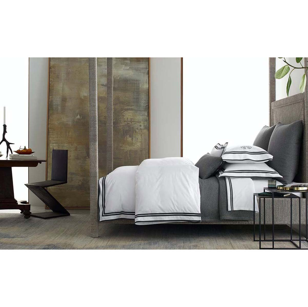 Lovely Luxurious Bed Linens Part - 4: Meridian Luxury Bed Linens By Matouk