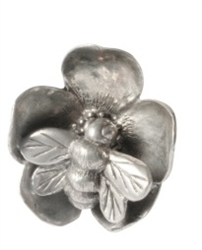 Bee on Flower Place Card Holder by Vagabond House
