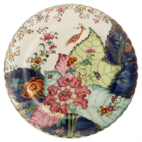 Tobacco Leaf Dinner Plate by Mottahedeh